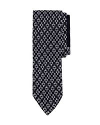 Brooks Brothers | Blue Open Cross Stitch Knit Tie for Men | Lyst
