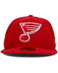 KTZ | Red St. Louis Blues C-Dub 59Fifty Cap for Men | Lyst
