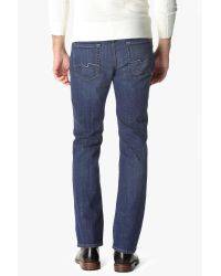 7 For All Mankind - Blue Austyn Relaxed Straight In Western Heritage for Men - Lyst