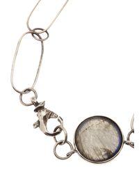 Beth Orduna - Metallic Labradorite Necklace - Lyst