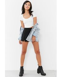 Truly Madly Deeply White Layer Cake Cropped Tee