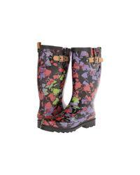 Chooka | Black Print Tall Rain Boots | Lyst