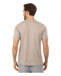 Brooks - Black Fly-by Short Sleeve Top for Men - Lyst