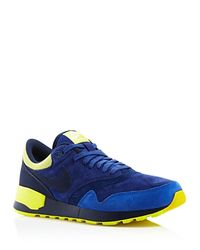 Nike - Yellow Air Odyssey Ltr Sneakers for Men - Lyst
