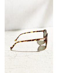 Urban Outfitters - Brown Camille Round Sunglasses - Lyst