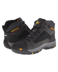 Caterpillar | Black Convex Mid Steel Toe for Men | Lyst