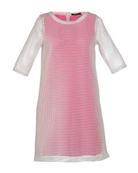 G.Sel - Pink Short Dress - Lyst
