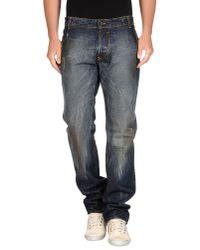 Brian Dales - Blue Denim Pants for Men - Lyst