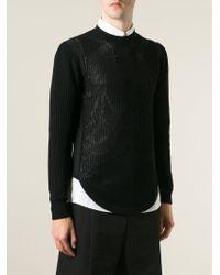 Givenchy - Black Star Patch Jumper for Men - Lyst