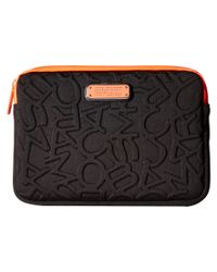 Marc By Marc Jacobs | Black Scrambled Logo Neoprene Tech Mini Tablet Case | Lyst