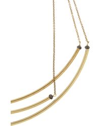 Isabel Marant | Metallic Gold-Tone And Bead Necklace | Lyst