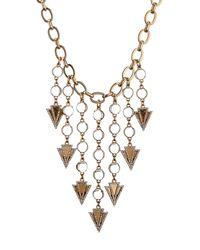 Lulu Frost - Metallic Istria Statement Necklace - Lyst