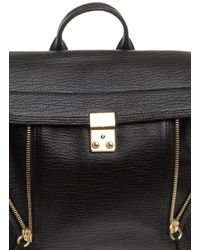 3.1 Phillip Lim | Black Pashli Colorblock Satchel Bag | Lyst