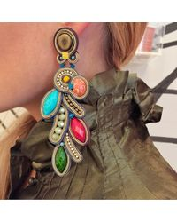Dori Csengeri | Metallic Aventure Earrings, Long | Lyst