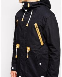 Clwr - Black Parka With Insulation for Men - Lyst