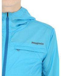 Patagonia Blue Light Houdini Running Light Jacket