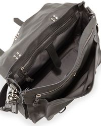 Proenza Schouler | Gray Extra-large Buffalo Messenger Bag for Men | Lyst