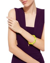 Mark Davis | Multicolor Spessartite Garnet Bakelite Skinny Bangle | Lyst