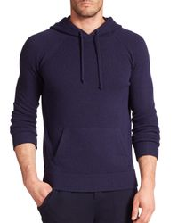 Polo Ralph Lauren | Blue Featherweight Cashmere Hoodie for Men | Lyst