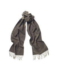 Ralph Lauren | Green Bridle Wool Scarf | Lyst