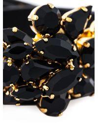 Marni | Black Embellished Bracelet | Lyst
