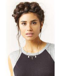 Natalie B. Jewelry | Metallic 14K Gold Miraculous Necklace | Lyst