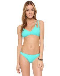 Araks   Blue Enil Bikini Bottoms   Lyst
