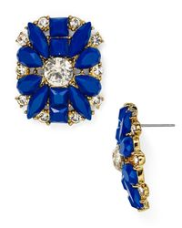 kate spade new york - Blue Turn Heads Statement Stud Earrings - Lyst