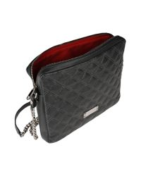 Marc Jacobs - Gray Quilted Leather Shoulder Bag - Lyst