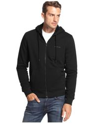 Michael Kors | Blue Sherpa Full-zip Hoodie - A Macy's Exclusive for Men | Lyst