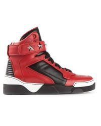 Givenchy | Black Tyson Star High-top Sneaker for Men | Lyst