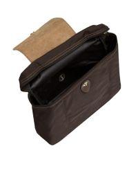 Longchamp Brown Le Pliage Backpack