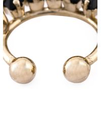 Givenchy | Metallic Skull Nose Ring | Lyst