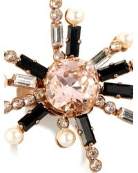 Vickisarge | Pink Cosmos Crystal-Star Gold-Plated Ring | Lyst