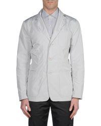 Add | Gray Blazer for Men | Lyst