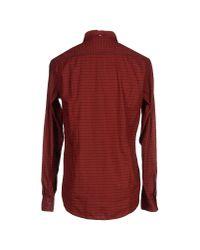 BOSS Orange - Purple Shirt for Men - Lyst