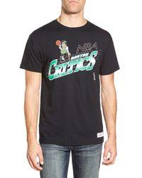 Mitchell & Ness - Black 'boston Celtics - Last Second Shot' Graphic T-shirt for Men - Lyst