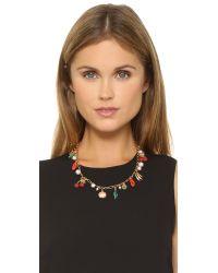 Tory Burch | Multicolor Sylvan Rosary Necklace | Lyst