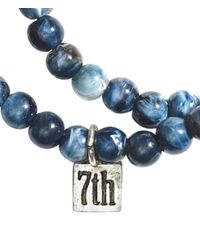 H&M | Blue 2-Pack Bracelets for Men | Lyst