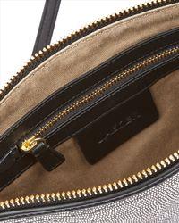 Jaeger - Julianne Metallic Leather Bag - Lyst