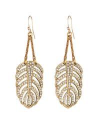 Lulu Frost - Metallic Goldtone Drift Earring - Small - Lyst