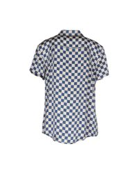 Marc By Marc Jacobs | Blue Shirt | Lyst