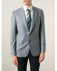 Etro - Blue Patterned Tie for Men - Lyst