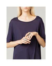 By Malene Birger Metallic Women's Imann Ring
