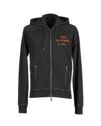 DSquared² - Gray Sweatshirt for Men - Lyst