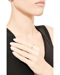 Sehti Na - Metallic Diamond Saturn Ring - Lyst