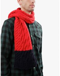 Wool And The Gang | Red Nobody's Wool Scarf for Men | Lyst