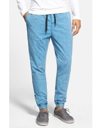 Ezekiel Blue 'kamden' Denim Jogger Pants for men