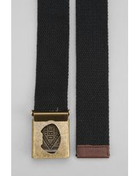 Obey - Black Trademark Camp Belt for Men - Lyst
