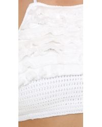 Suboo - White Castaway Crochet Bikini - Lyst